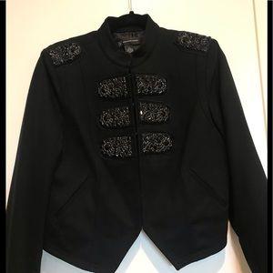 INC black short jacket